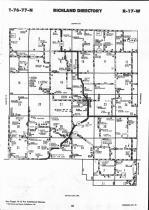 Map Image 016, Mahaska County 1993